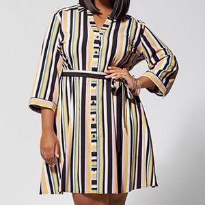 Fashion to Figure striped dress